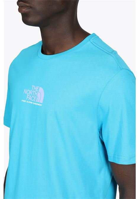 s/s fine alpine equipment tee THE NORTH FACE | 8 | NF0A4SZUD7R1BLUE