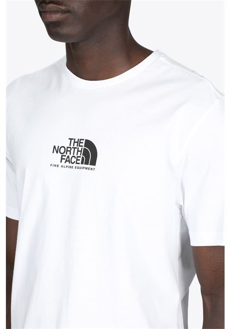 s/s fine alpine equipment tee THE NORTH FACE | 8 | NF0A4SZULA91WHITE/BLACK