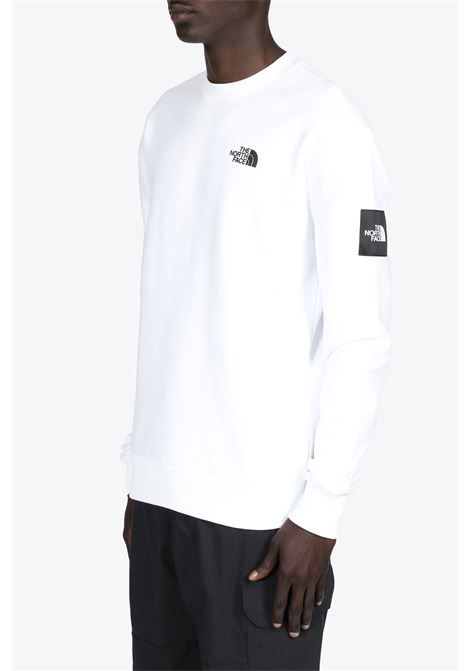 black box crew fleece THE NORTH FACE | -108764232 | NF0A557GFN41WHITE