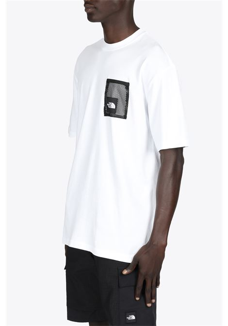 black box cut tee THE NORTH FACE | 8 | NF0A557KFN41WHITE