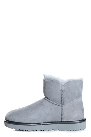 UGG | 10000042 | MINI BAILEY BUTTON 1019031METALLIC GREY