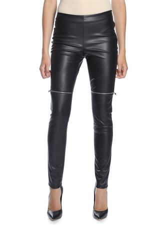 AMEN | 9 | AMW18307 PANTS IN ECO LEATHER009