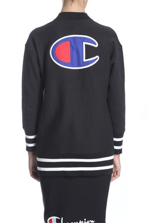 CHAMPION | -108764232 | 110981 MAXI FULL ZIP SWEATSHIRTBLACK