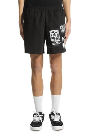 MISBHV | 30 | SS18-SH-1B MULTI PATCH SHORTSBLACK