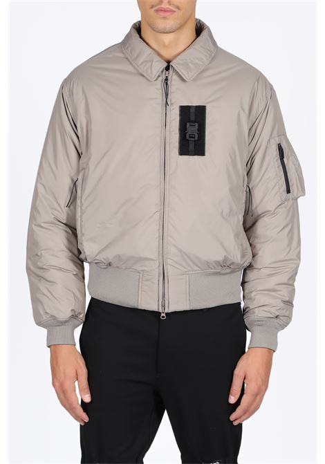 1017 ALYX 9SM | -276790253 | AAMOU0036FA01 BOMBER JACKET W/NYLONE BUCTAUPE