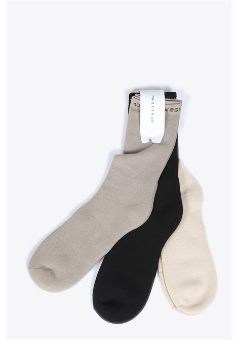 1017 ALYX 9SM | 33 | AAUSS0005FA01 3 PACK SOCKSGREY/BLACK/TAUPE