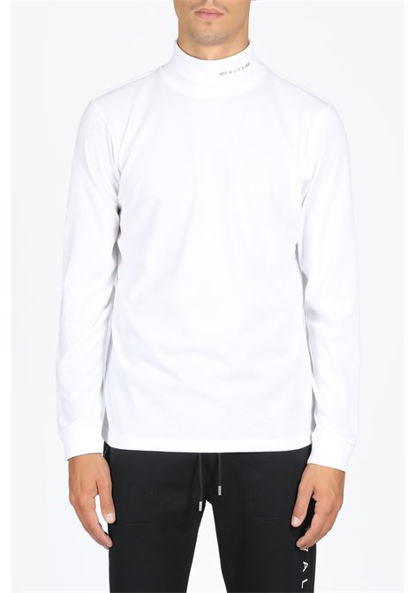 1017 ALYX 9SM | 8 | AVUTS0021FA01 L/S ROLL NECK TEE VISUALWHITE