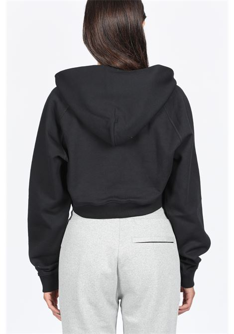 WOMENS HOODED SWEATSHIRT 1017 ALYX 9SM | -108764232 | AVWSW0009FA01 WOMENS HOODED SWEATSHIRTBLACK