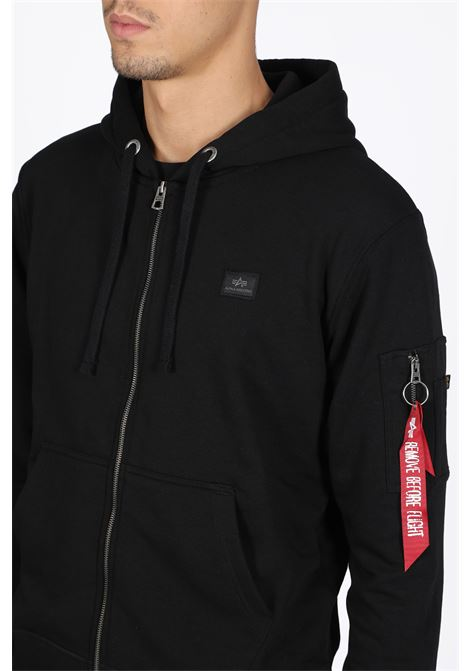 ALPHA INDUSTRIES | -108764232 | 158322 B X-FIT XIP HOODY03