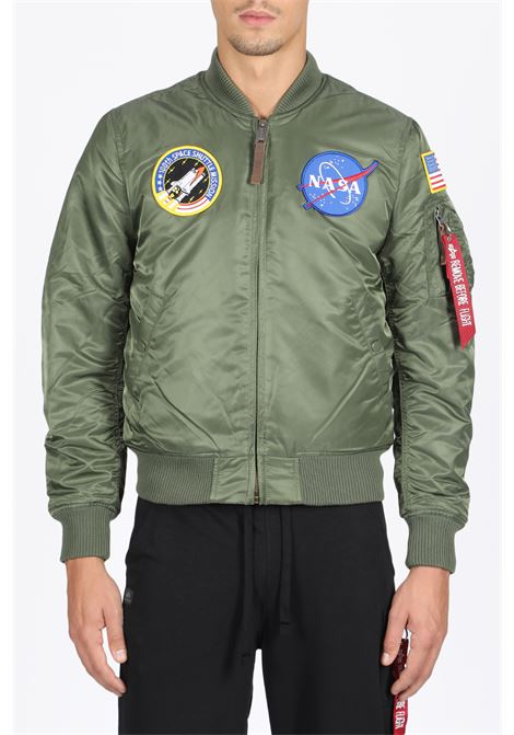 B MA-1 VF NASA ALPHA INDUSTRIES | -276790253 | 166107 B MA-1 VF NASA01