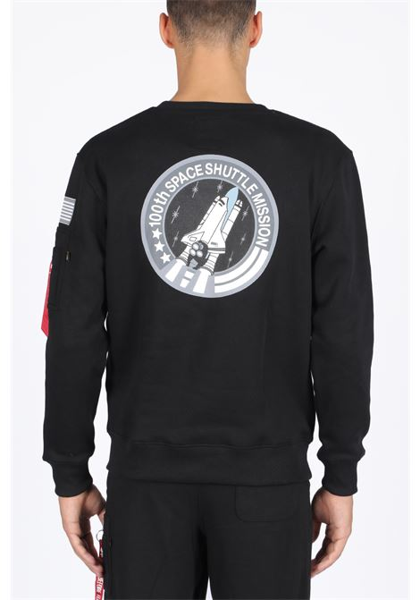ALPHA INDUSTRIES | -108764232 | 178307 B SPACE SHUTTLE SWEATER03