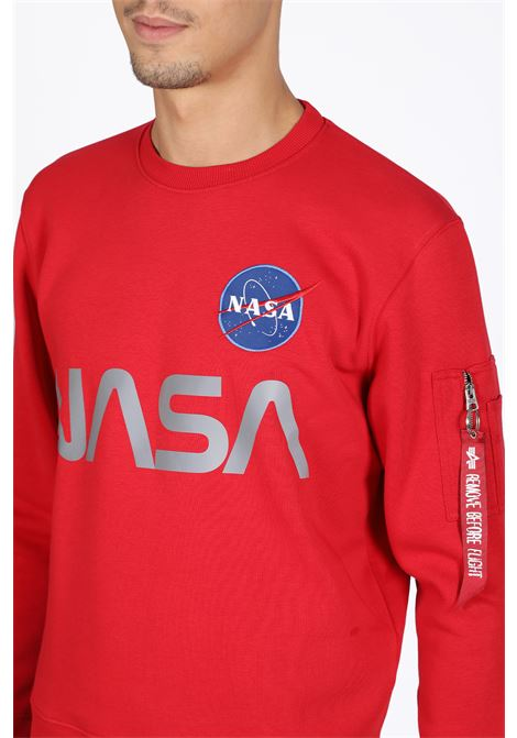 ALPHA INDUSTRIES | -108764232 | 178309 B NASA REFLECITIVE SWEATER328