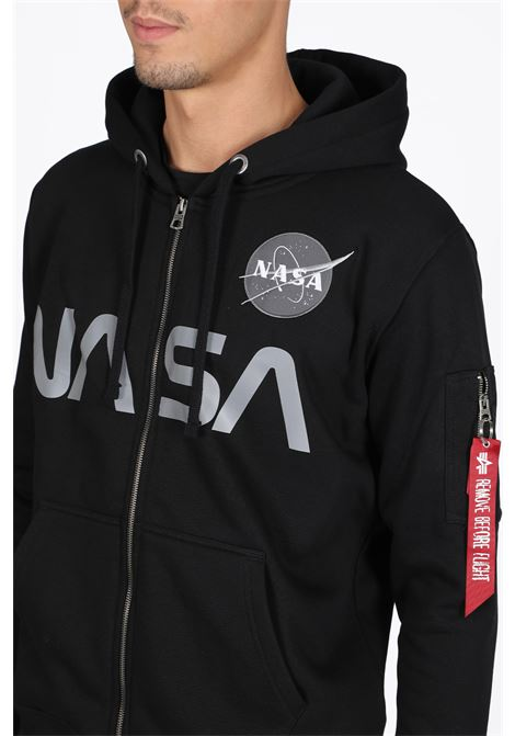 ALPHA INDUSTRIES | -108764232 | 178326 NASA ZIP HOODY03