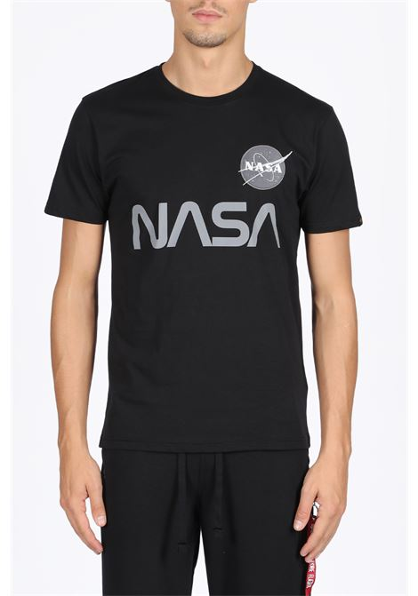 ALPHA INDUSTRIES | 8 | 178501 B NASA REFLECTIVE T-SHIRT03