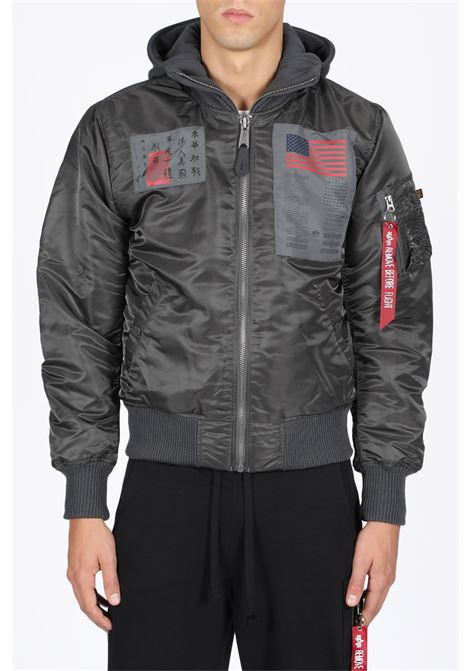 ALPHA INDUSTRIES | -276790253 | 188104 B MA-1 D-TEC BLOOD CHIT136