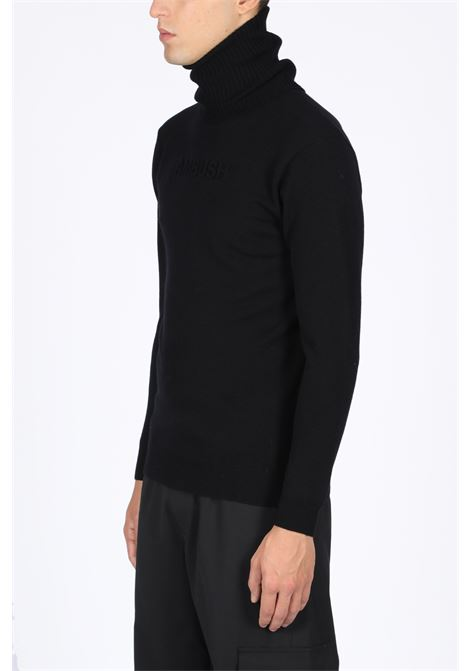 KNITTED SWEATER TURTLE NECK  AMBUSH | -1384759495 | 12111826 KNITTED SWEATER TURTLE NECK EMBBLACK