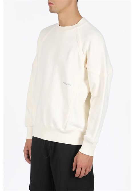 WOVEN SWEATER WIDE PIPING SHIRT AMBUSH | -108764232 | 12111839 WOVEN SWEATER WIDE PIPING SHIRTWHITE