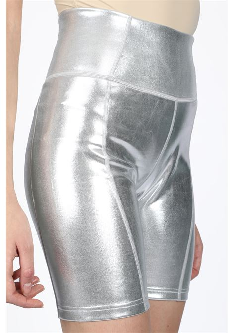 METALLIC BIKE SHORTS DANIELLE GUIZIO | 30 | DGS9RD503 METALLIC BIKE SHORTSSILVER