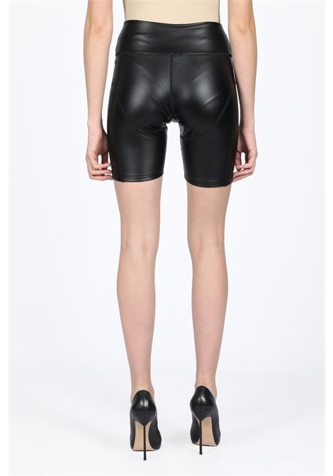 LEATHER BIKE SHORTS DANIELLE GUIZIO | 30 | GSF8R1506 LEATHER BIKE SHORTSBLACK