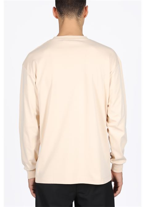 NOT FROM PARIS MADAME LONG SLEEVES T-SHIRT DROLE DE MONSIEUR | 8 | FW19-NEWYORK NFPM LONG TEEBEIGE