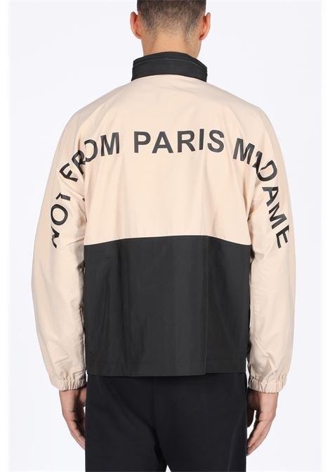 NOT FROM PARIS MADAME WINDBREAKER DROLE DE MONSIEUR | 3 | FW19-ROTTERDAM NFPM WINDBREAKER JACKETBLACK