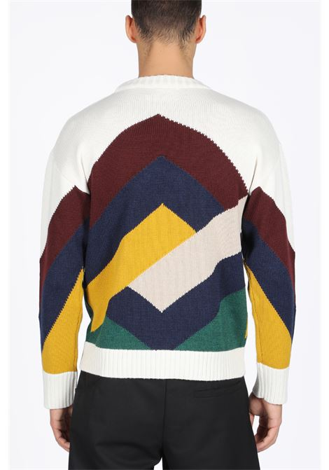 GRAPHIC KNIT SWEATER DROLE DE MONSIEUR | -1384759495 | FW19-VIENNE GRAPHIC SWEATERMULTICOLR