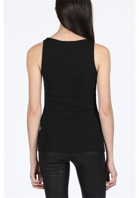 LUREX TANK TOP FAITH CONNEXION | 40 | W3704J00100 LUREX TANK TOPBLACK