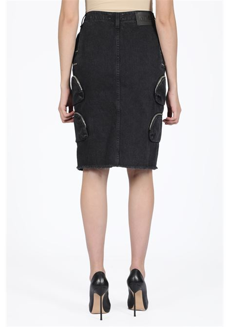 NTMB DENIM SKIRT FAITH CONNEXION | 15 | W5404DNTMB1 NTMB DNM SKTBLACK