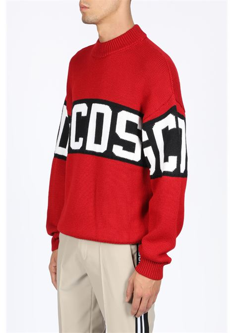 GCDS | -1384759495 | CC94M020050 LOGO SWEATERRED
