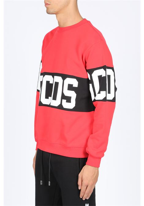 GCDS | -108764232 | CC94M020222 BAND CREWNECKRED