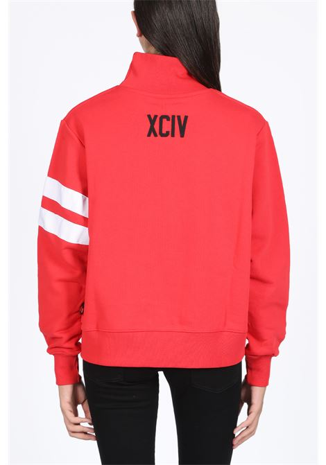 LOGO HIGH COLLAR CREWNECK GCDS | -108764232 | CC94W020203 LOGO HIGH COLLAR CREWNECKRED