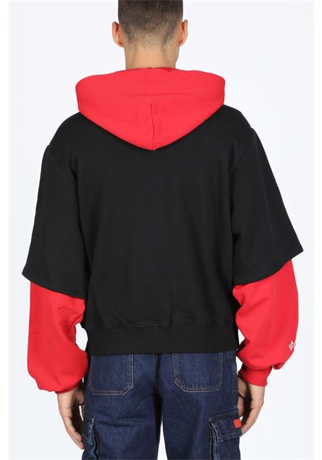 GCDS | -108764232 | FW20M020018 MAXI DEVIL DOUBLE HOODIERED
