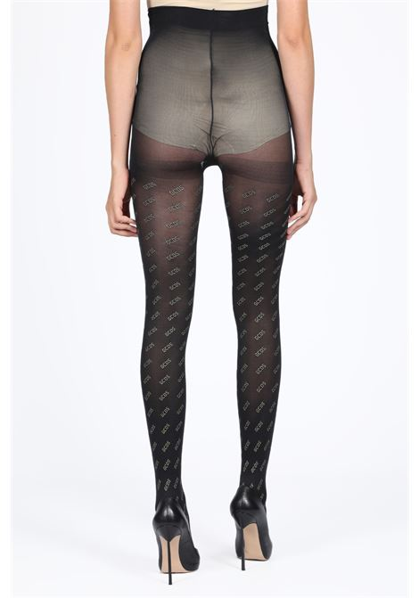 TIGHTS ALL OVER GCDS | 33 | FW20W010355 TIGHTS ALL OVER GOLDBLACK