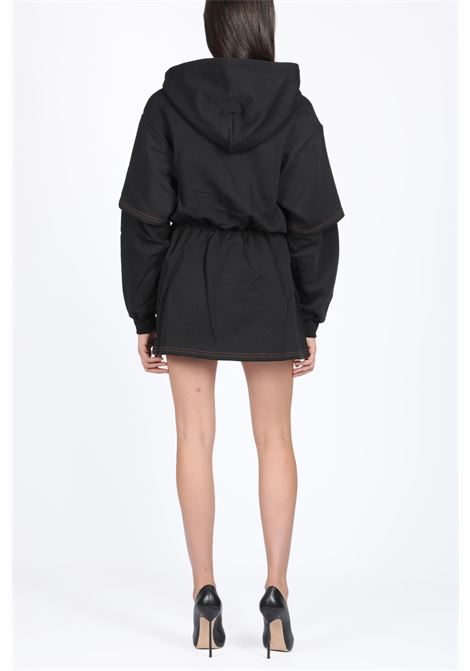BASIC DOUBLE DRESS HOODIE GCDS | -108764232 | FW20W020022 BASIC DOUBLE DRESS HOODIEBLACK