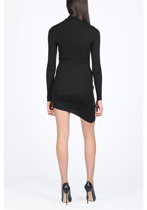 COLLAR ASYMMETRIC DRESS GCDS | 11 | FW20W020051 COLLAR ASYMMETRIC DRESSBLACK