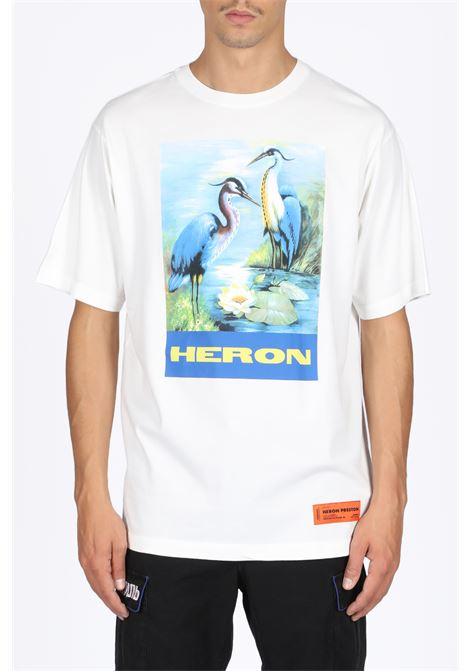 HERON PRESTON | 8 | HMAA001F19760001 OVER TSHIRT SS PERMANEN0288