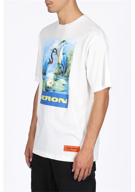 OVER TSHIRT SS PERMANENt HERON PRESTON | 8 | HMAA001F19760001 OVER TSHIRT SS PERMANEN0288