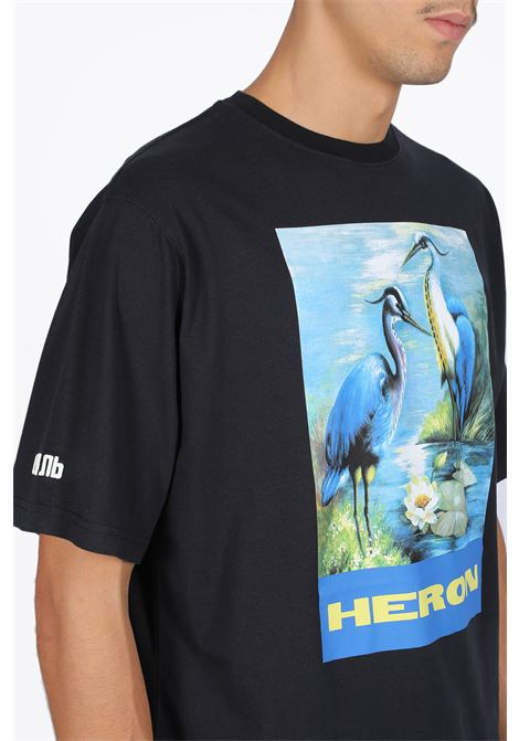 OVER T-SHIRT SS PERMANENT HERON PRESTON | 8 | HMAA001F19760001 OVER TSHIRT SS PERMANEN0488