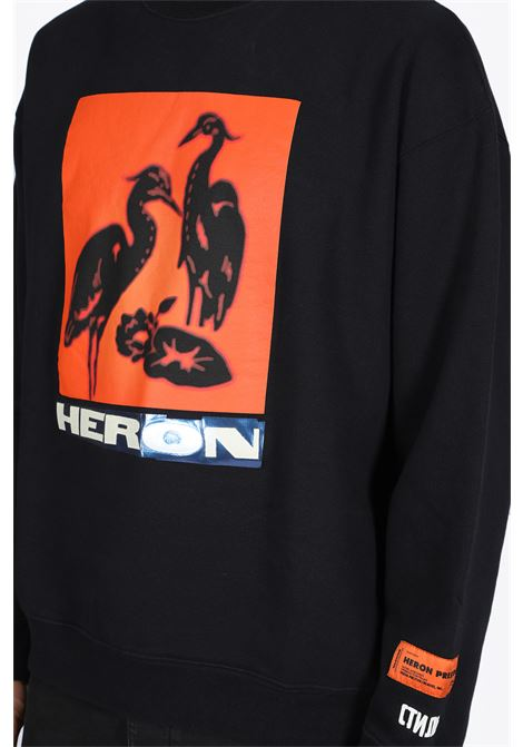 HERON PRESTON | -108764232 | HMBA003F19808003 CREWNECK NS HERONS TAPE0488