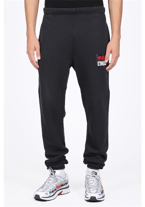 HERON PRESTON | 9 | HMCH005F198080040488 SLIM SWEATPANTS DOTBLACK/MULTICOLOR