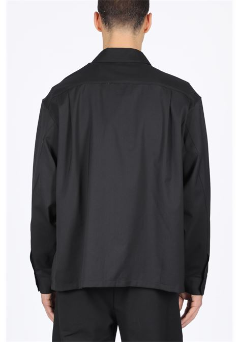 HERON PRESTON | 6 | HMGA010F198520160401 WORKER SHIRT PIPINGBLACK/WHITE