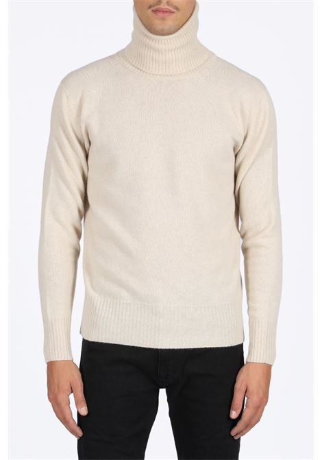 LANEUS | -1384759495 | MGU1267 TURTLENECKOFF WHITE