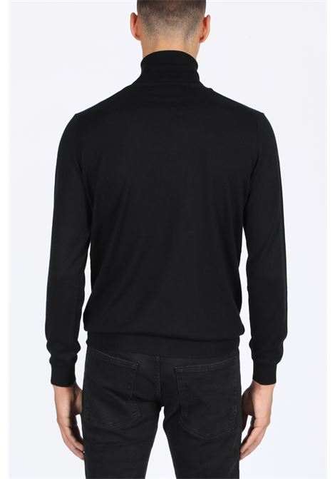 SILK TURTLENECK LANEUS | -1384759495 | S2142 TURTLENECKBLACK