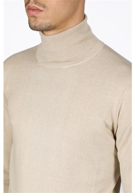 SILK TURTLENECK LANEUS | -1384759495 | S2142 TURTLENECKSAND