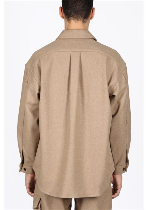 LOWNN | 6 | CHEMISE MANCHES LONGUES/OVERSIZE SHIRTBEIGE