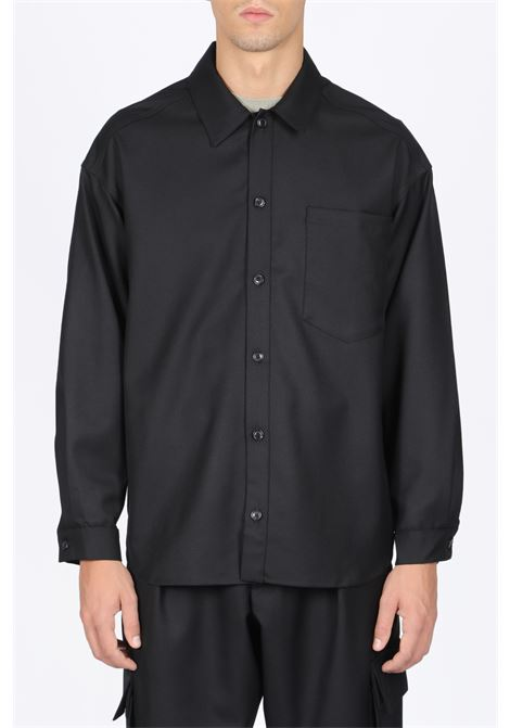 LOWNN | 6 | CHEMISE MANCHES LONGUES/OVERSIZE SHIRTBLACK