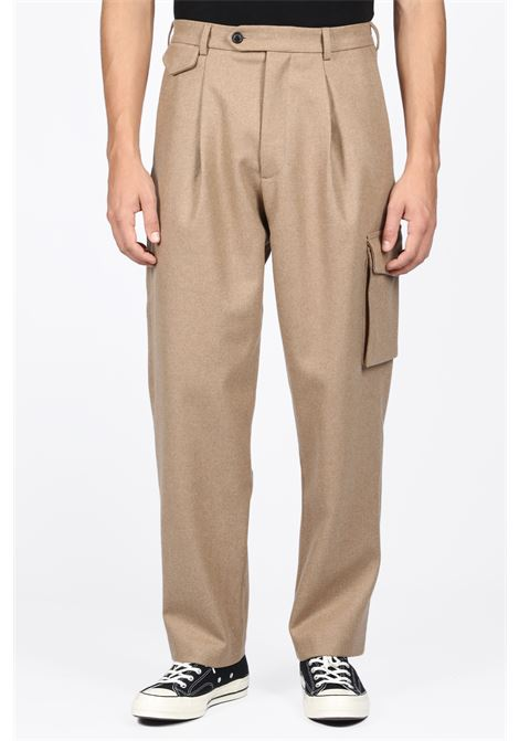 LOWNN | 9 | PANTALON DROIT/RELAXED TROUSERSBEIGE