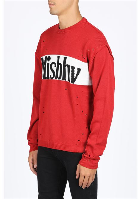 YANKEE DESTROYER SWEATER MISBHV | -1384759495 | 119M142 YANKEE DESTROYER SWEATERRED