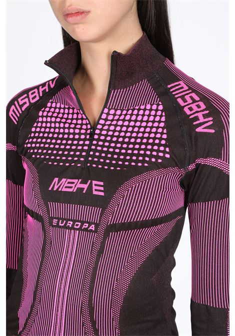 ACTIVE FUTURE LONG SLEEVES TOP MISBHV | 8 | 119W113 ACTIVE FUTURE LONGSLEEVEBLACK/PINK