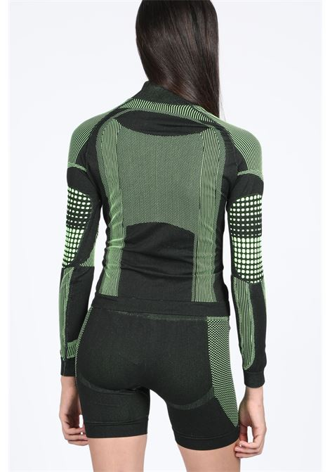 ACTIVE FUTURE LONGSLEEVES TOP MISBHV | 8 | 119W133 ACTIVE FUTURE LONGSLEEVEBLACK/GREEN